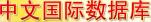 中文国际数据库